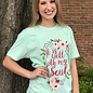 It Is Well With My Soul on Mint T-Shirt