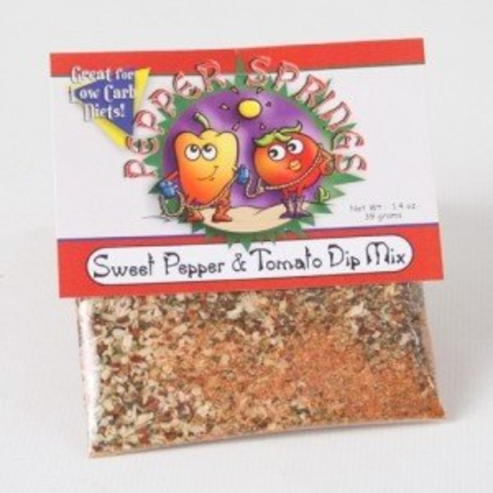 Sweet Pepper & Tomato Dip Mix