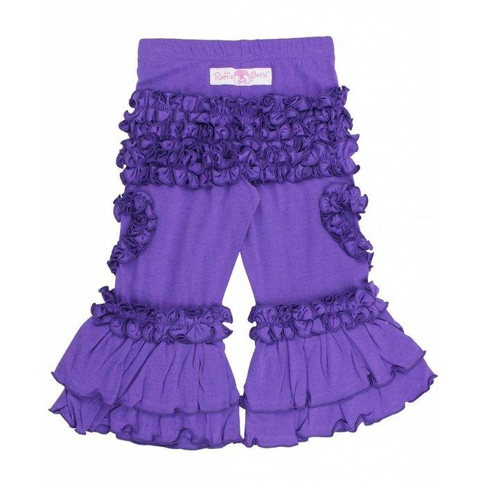 Ruffle Butts Purple Heart Pant
