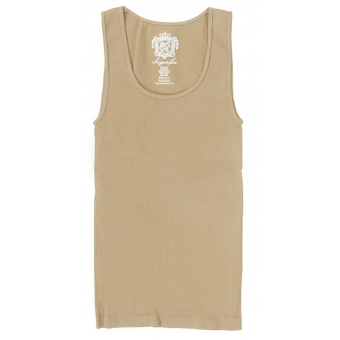 Ribbed Nude Tank - ONE SIZE