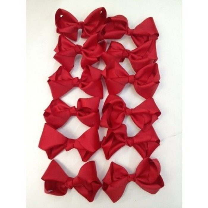 Medium Red Bow