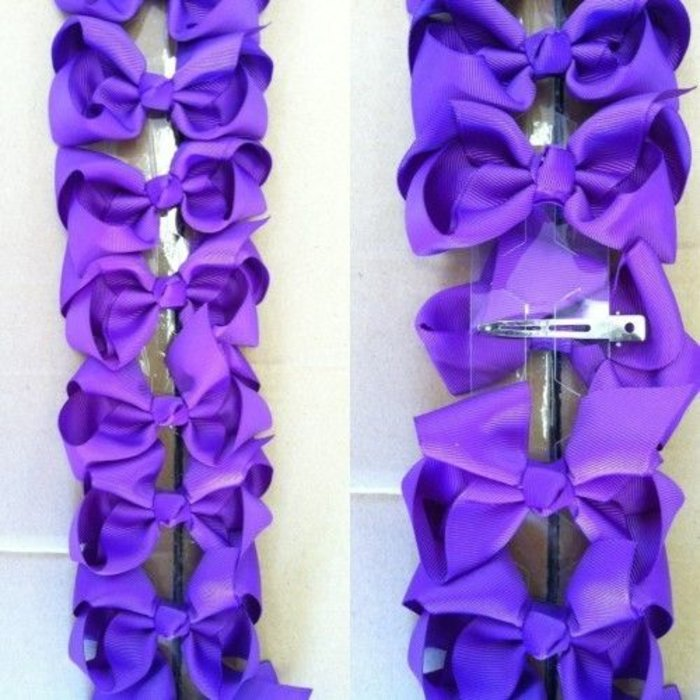 Medium Purple Bow