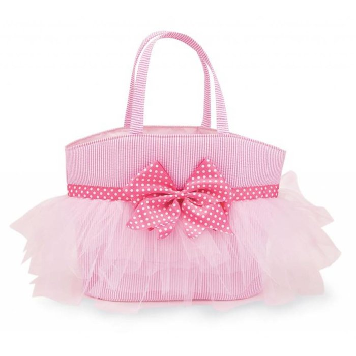 MudPie Pink Tulle Tote - Baby Bag