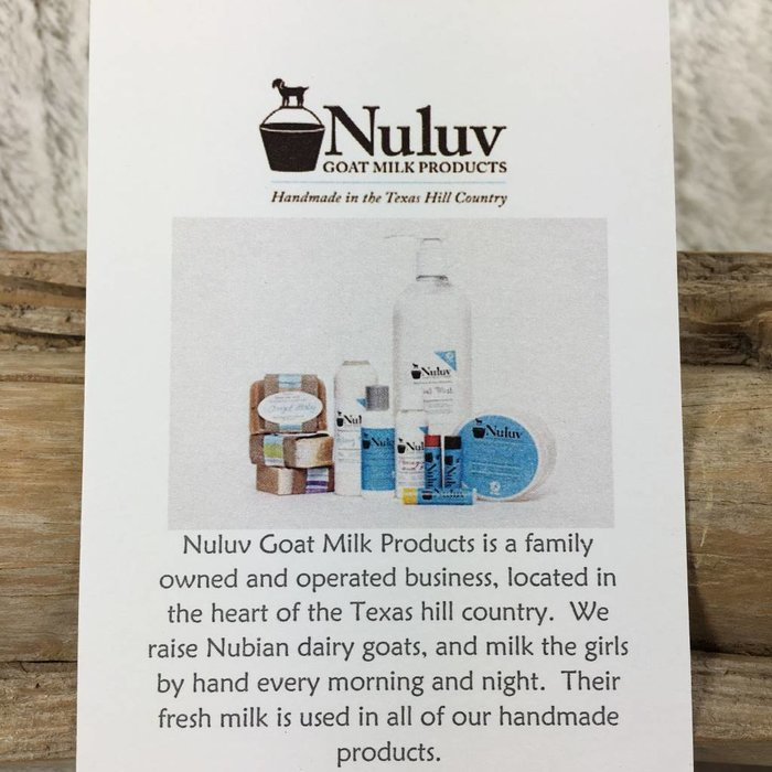 6 Oz Nuluv Grapefruit Hand Made Goats Milk Lotion