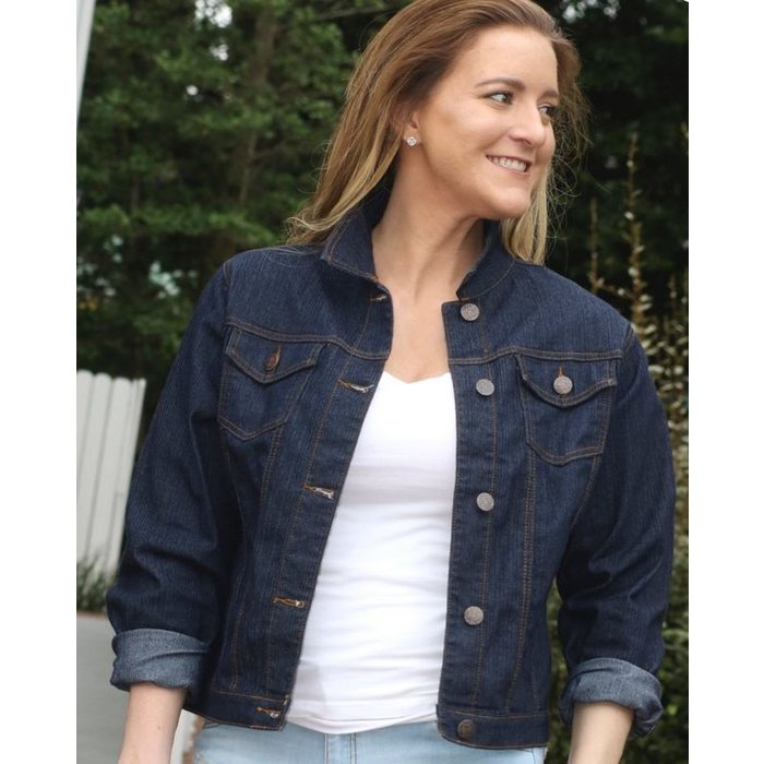 Dark Denim Jean Jacket