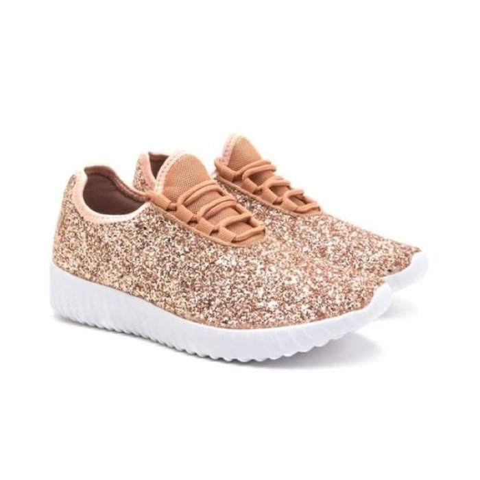 Remy Tennis Shoes - ROSE GOLD