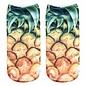 Pineapple Ankle Crazy Socks