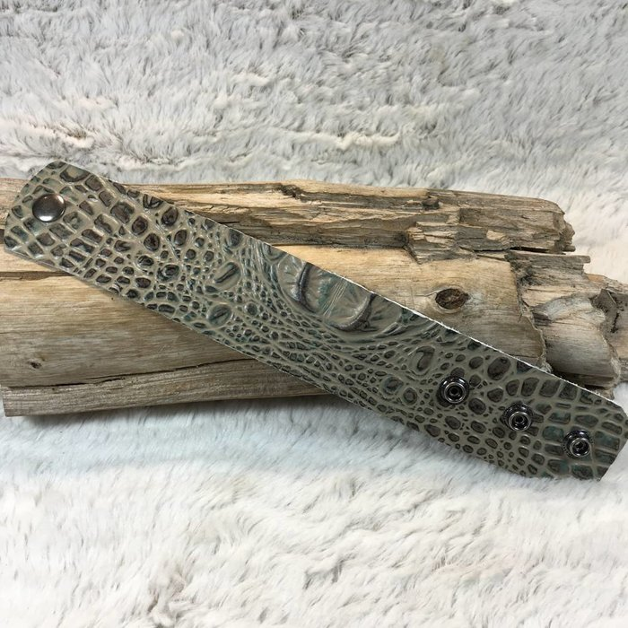 Alligator Leather Cuff - #1