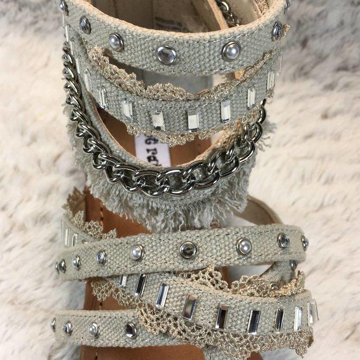 Xara Sandals - Cream