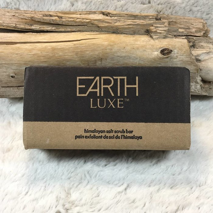 Himalayan Salt Scrub Bar by Earth Luxe