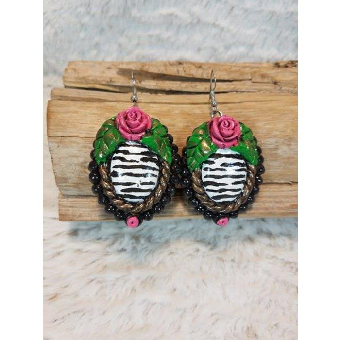Kenda 2 Clay Earrings