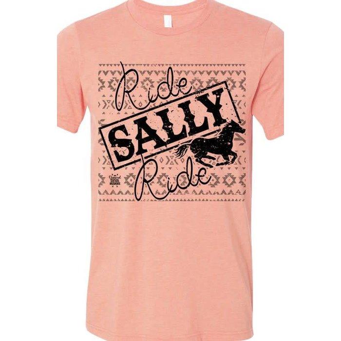 Ride Sally Ride Crew Neck Tee