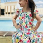Flamingo Fruit Summer Dress