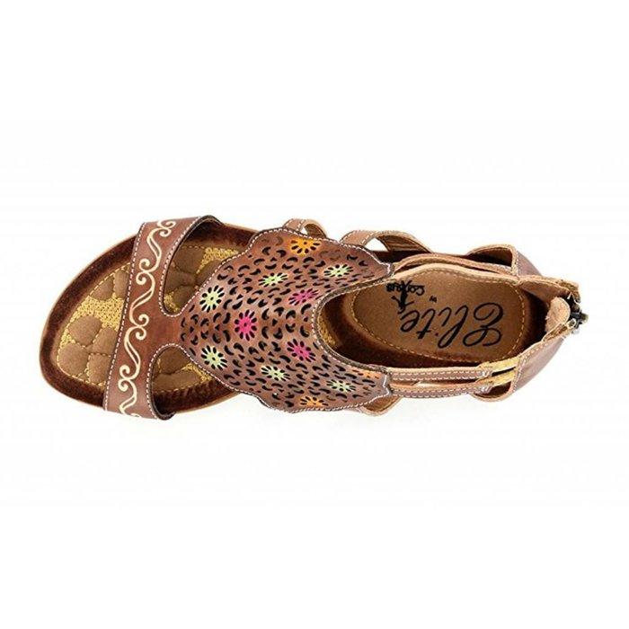 Elite Curacao - Natural Brown Sandal