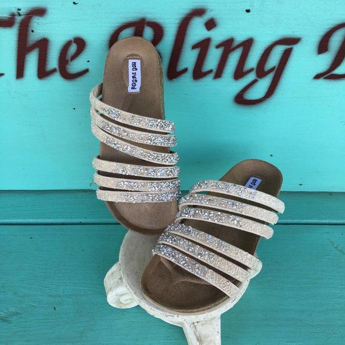 Cream Very Bushey Sandal