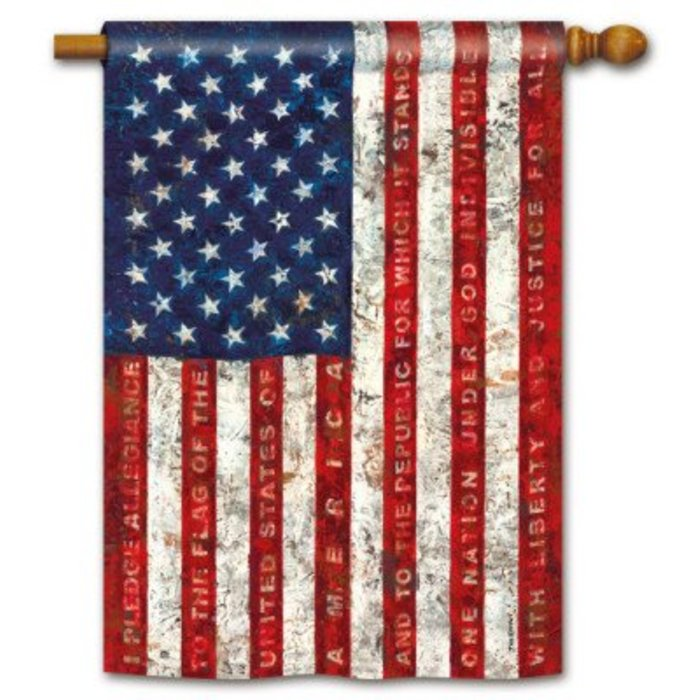 Pledge of Allegiance Standard Flag