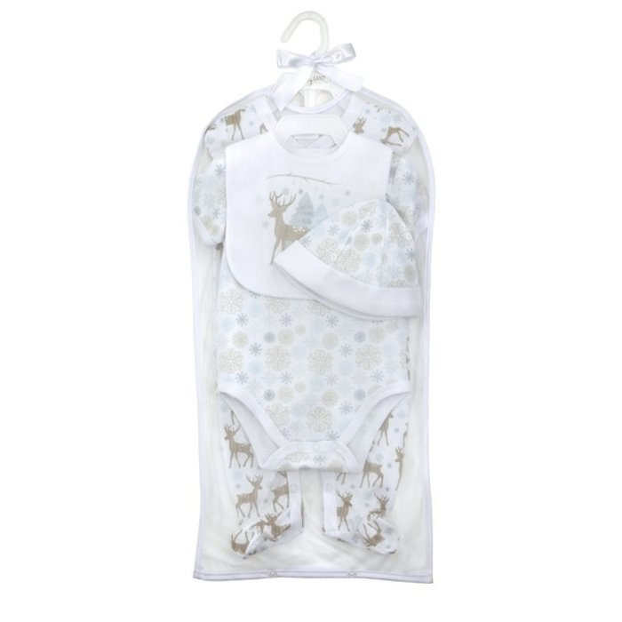 Woodland Deer Layette Set (4 pc. set)