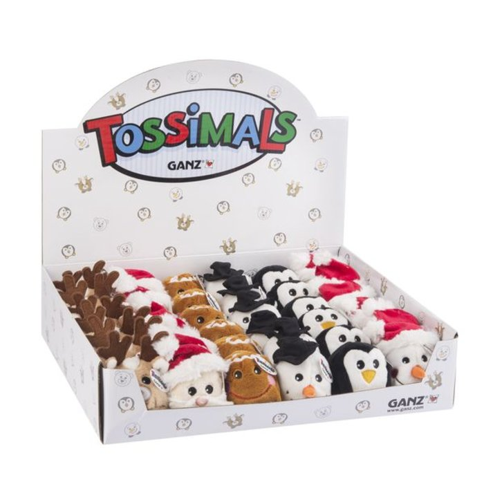 Gingerbread Man Holiday Tossimals