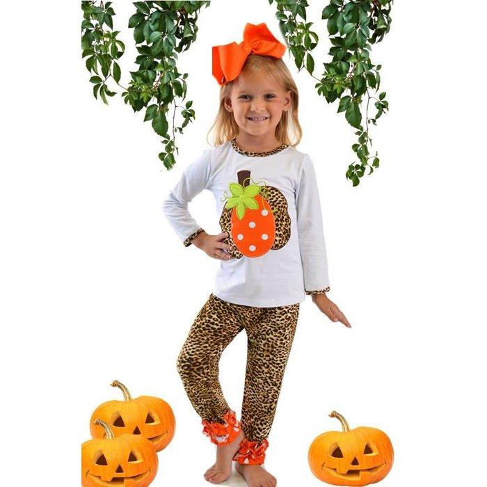 Kids Cheetah and Pumpkin Set