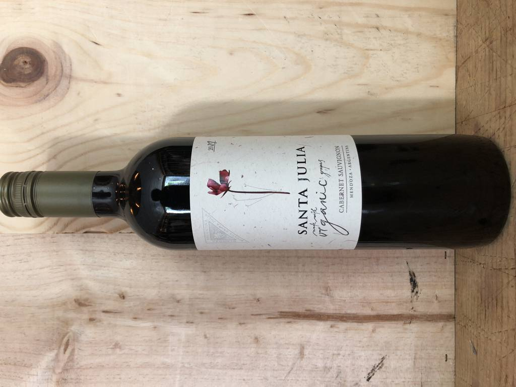 Santa Julia Vineyard Organica Cabernet Sauvignon 2018 (750ml)