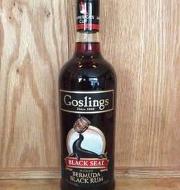 Goslings Black Seal Bermuda Black Rum (750ml)