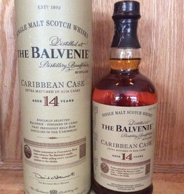 Balvenie 14 Year Old Caribbean Cask Single Malt Scotch (750ml)