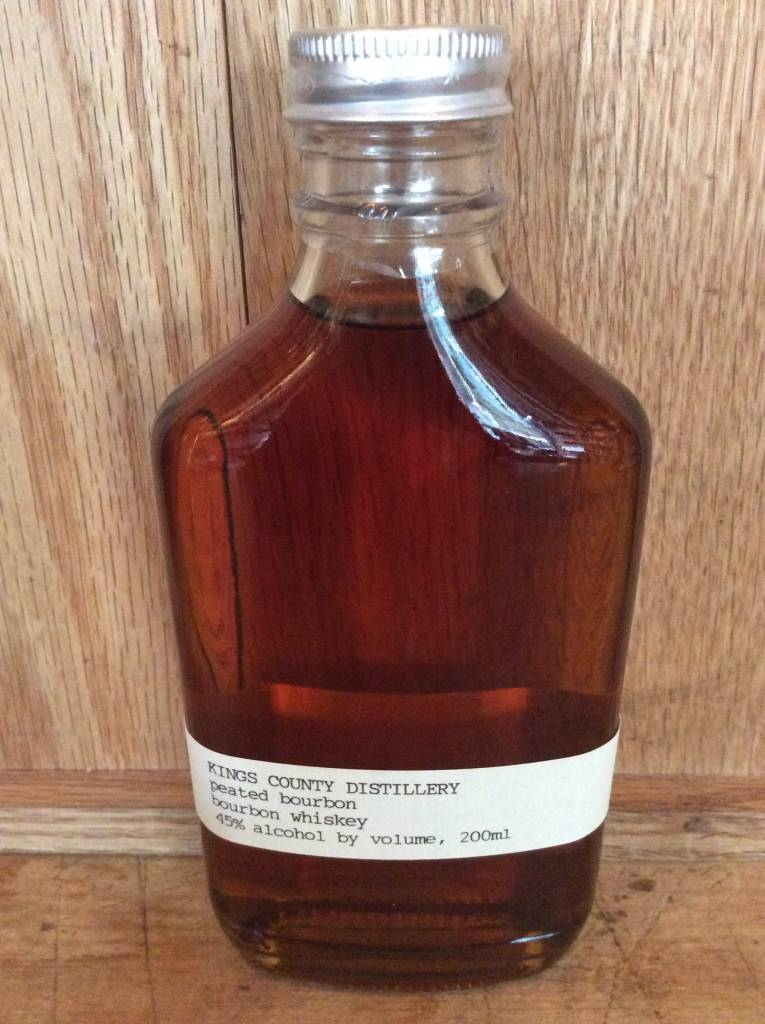 Kings county Peated bourbon (200ml)