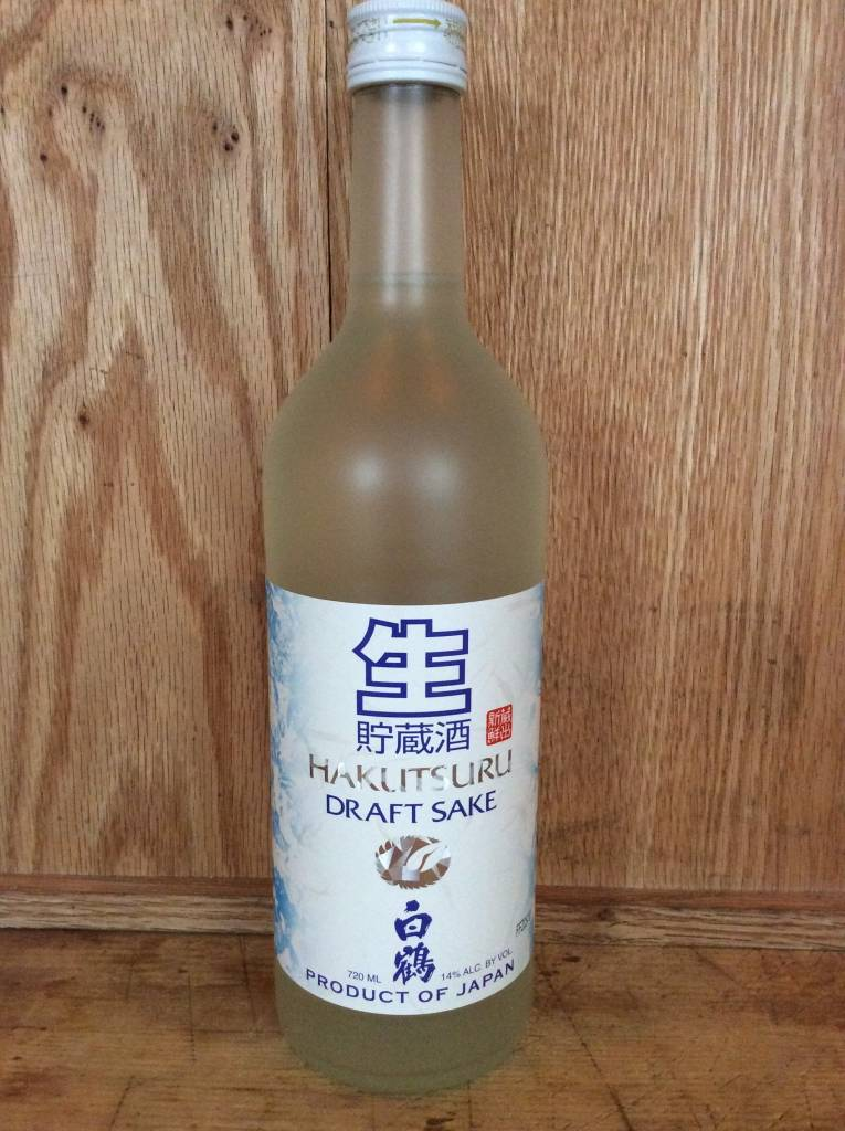 Hakutsuru Draft Sake (720ml)