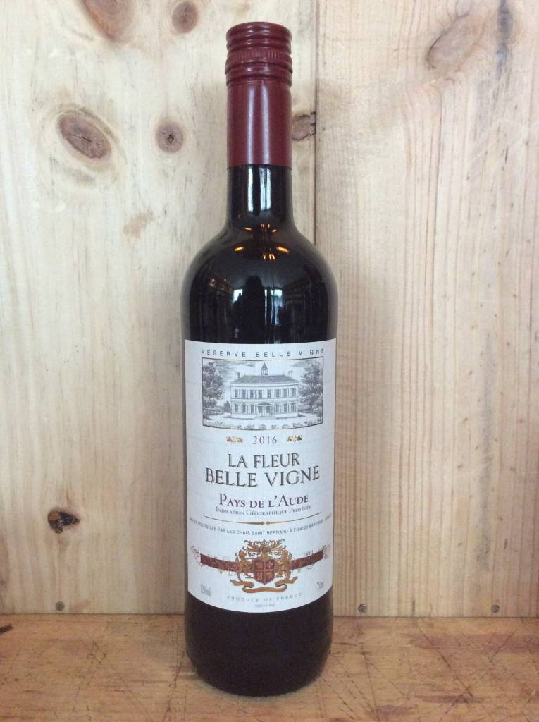La Fleur Belle Vigne Vin de Pays l' Aude 2016 (750ml)