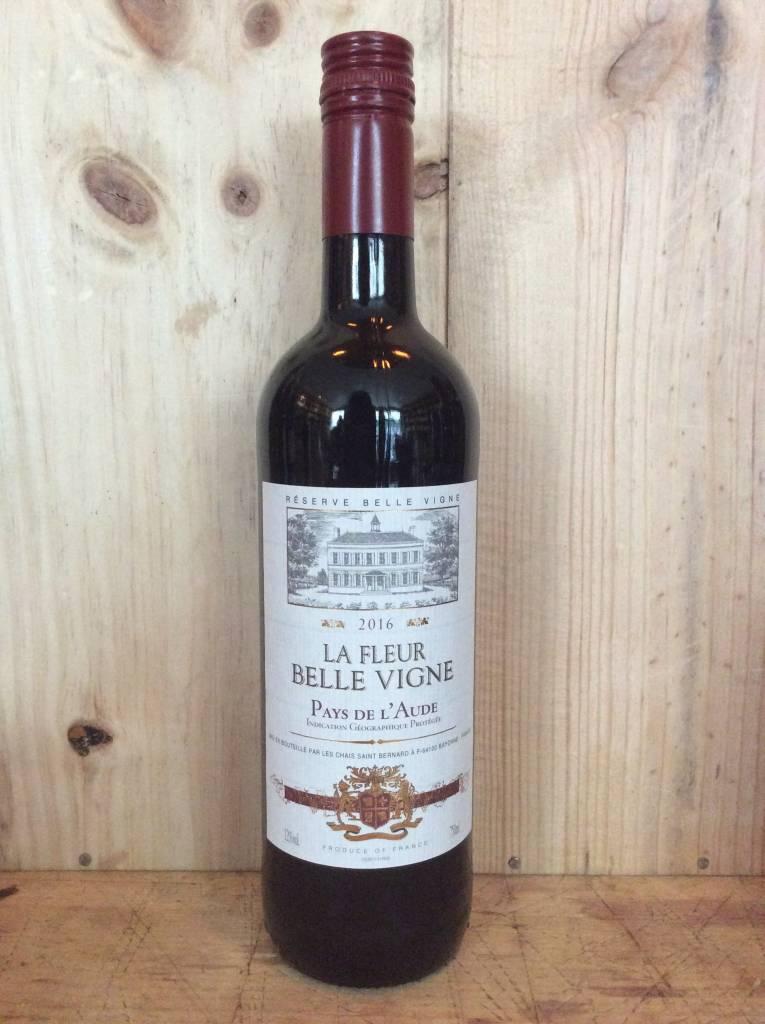 La Fleur Belle Vigne Vin de Pays l' Aude 2017 (750ml)