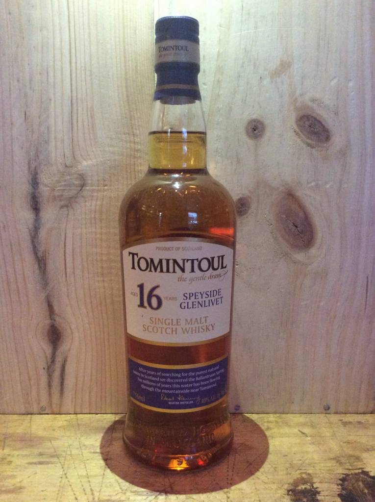 Tomintoul 16 Yr Single Malt Scotch Whisky (750ml)