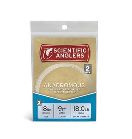 Scientific Anglers Scientific Anglers Anadromous Leader - 9' (2-Pack)