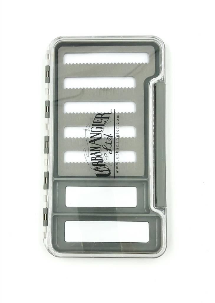 Urban Angler UA Thin Waterproof Box Clear (with Magnet) Large