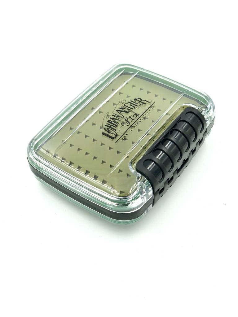 Urban Angler UA Medium Waterproof Box Silicon Clear