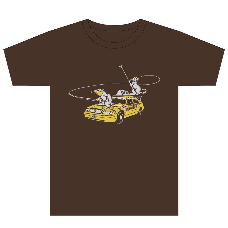 1a5a85e5 Urban Shop Rats T-Shirt | Urban Angler Logo Gear - Urban Angler