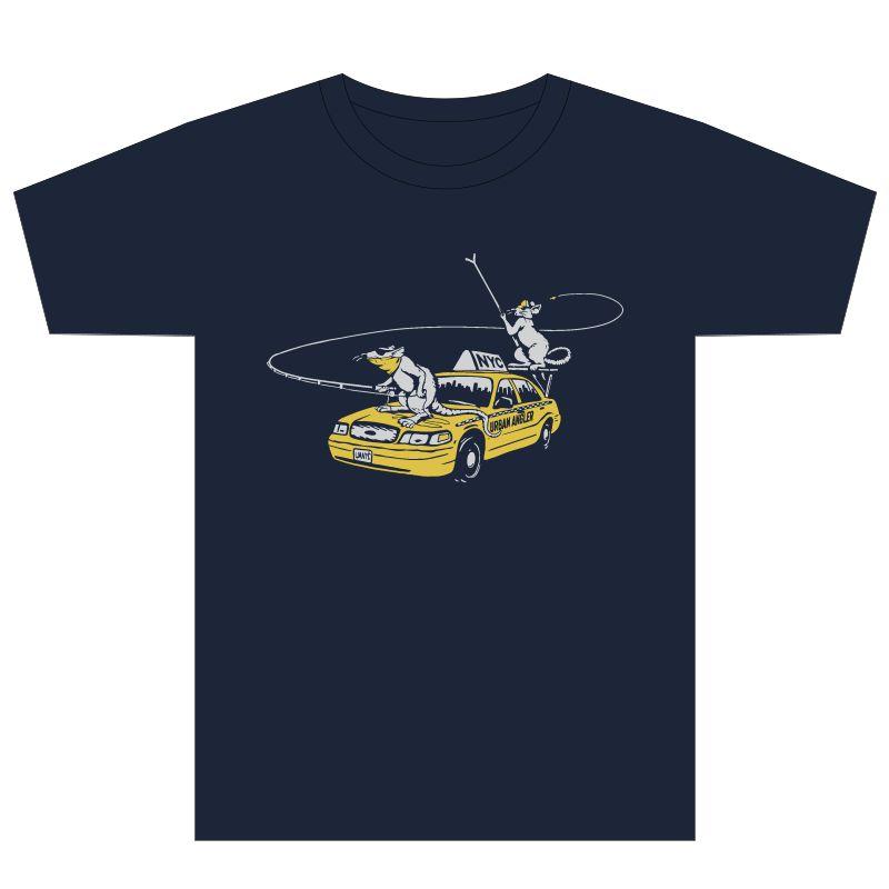 Urban Angler Urban Shop Rats Logo Performance T-Shirt