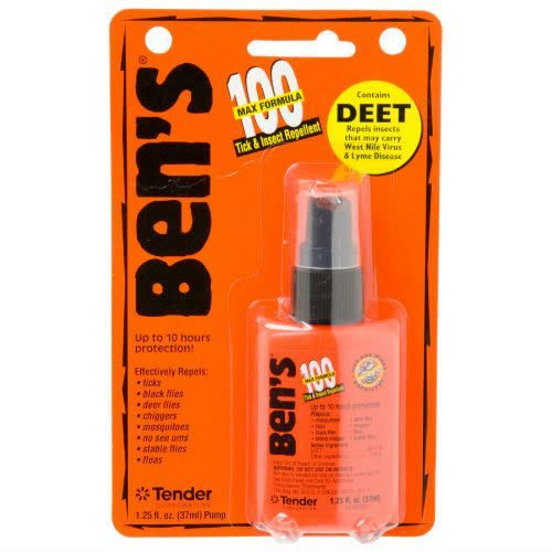 Ben's Ben's 100% Deet Repellent, 1.25oz