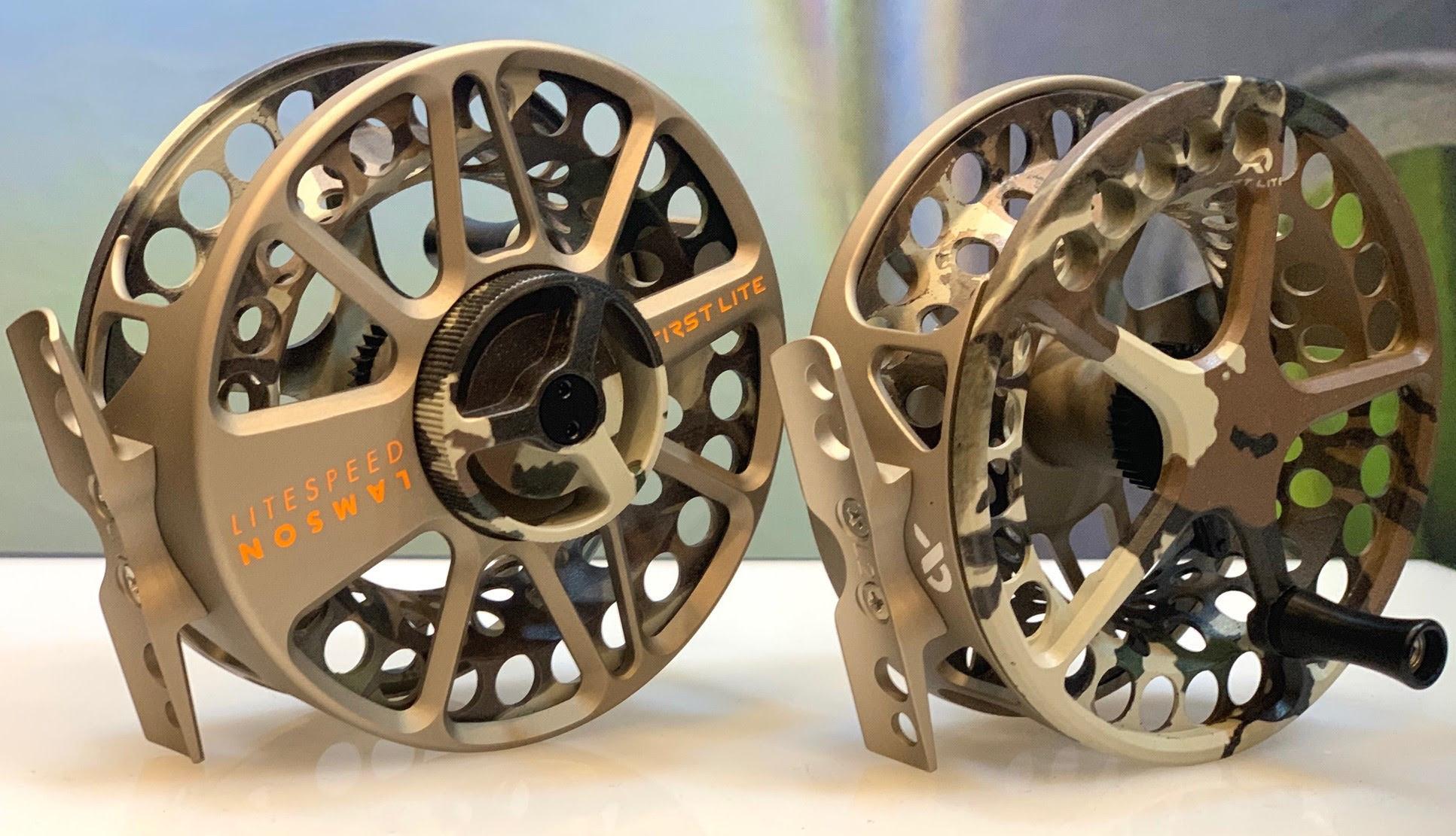 Waterworks Lamson Lamson Litespeed Reel - First Lite Fusion Camo