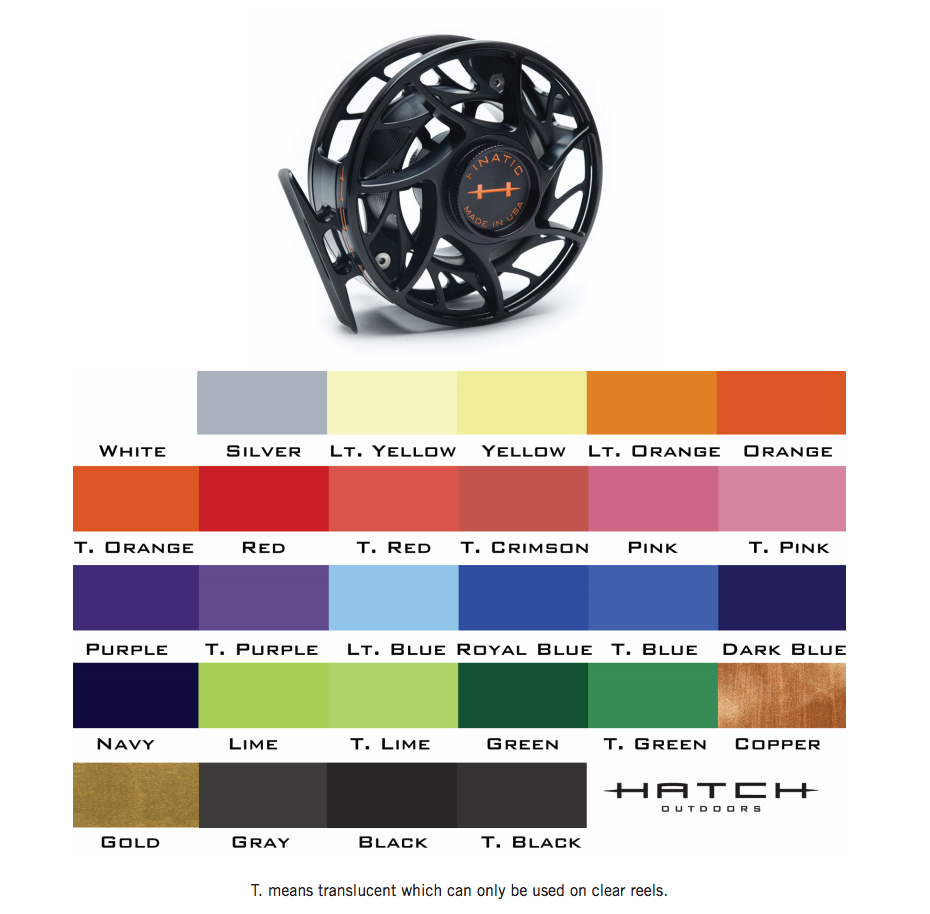 Hatch Hatch Finatic Gen2 Custom Shop Fly Reel