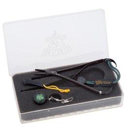 Dr. Slick Dr. Slick Gift Sets Mitten Clamp with Nipper & Zinger - Black