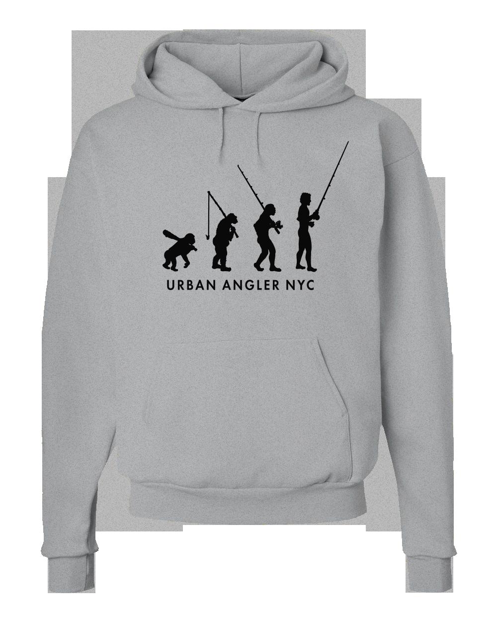 Urban Angler Evolved Logo Hoodie