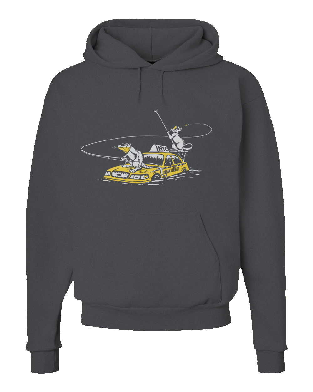 Urban Angler Shop Rats Logo Hoodie