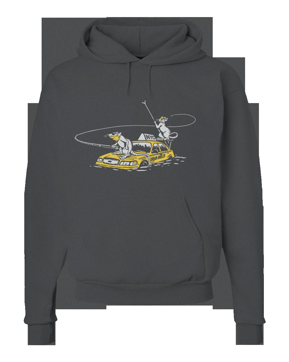 Urban Angler Shop Rats Logo Hoody