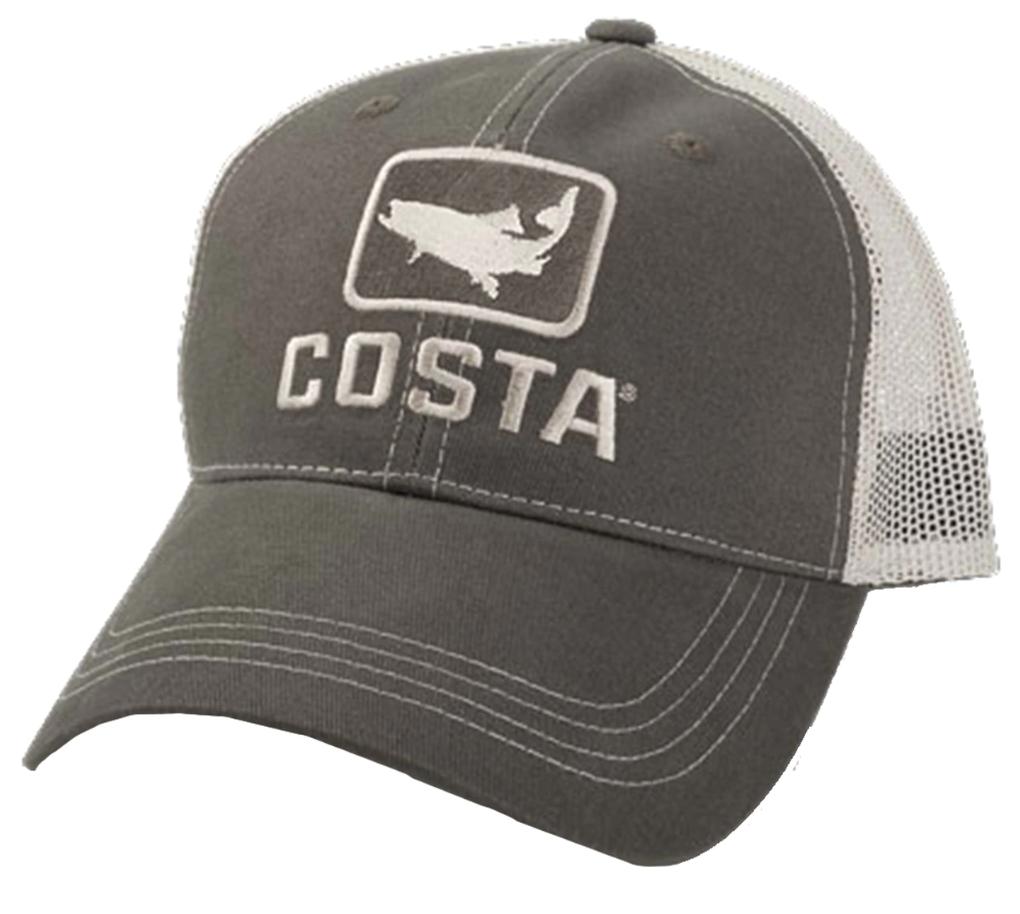 Costa Del Mar Costa XL Trucker Hat Trout Moss/Stone