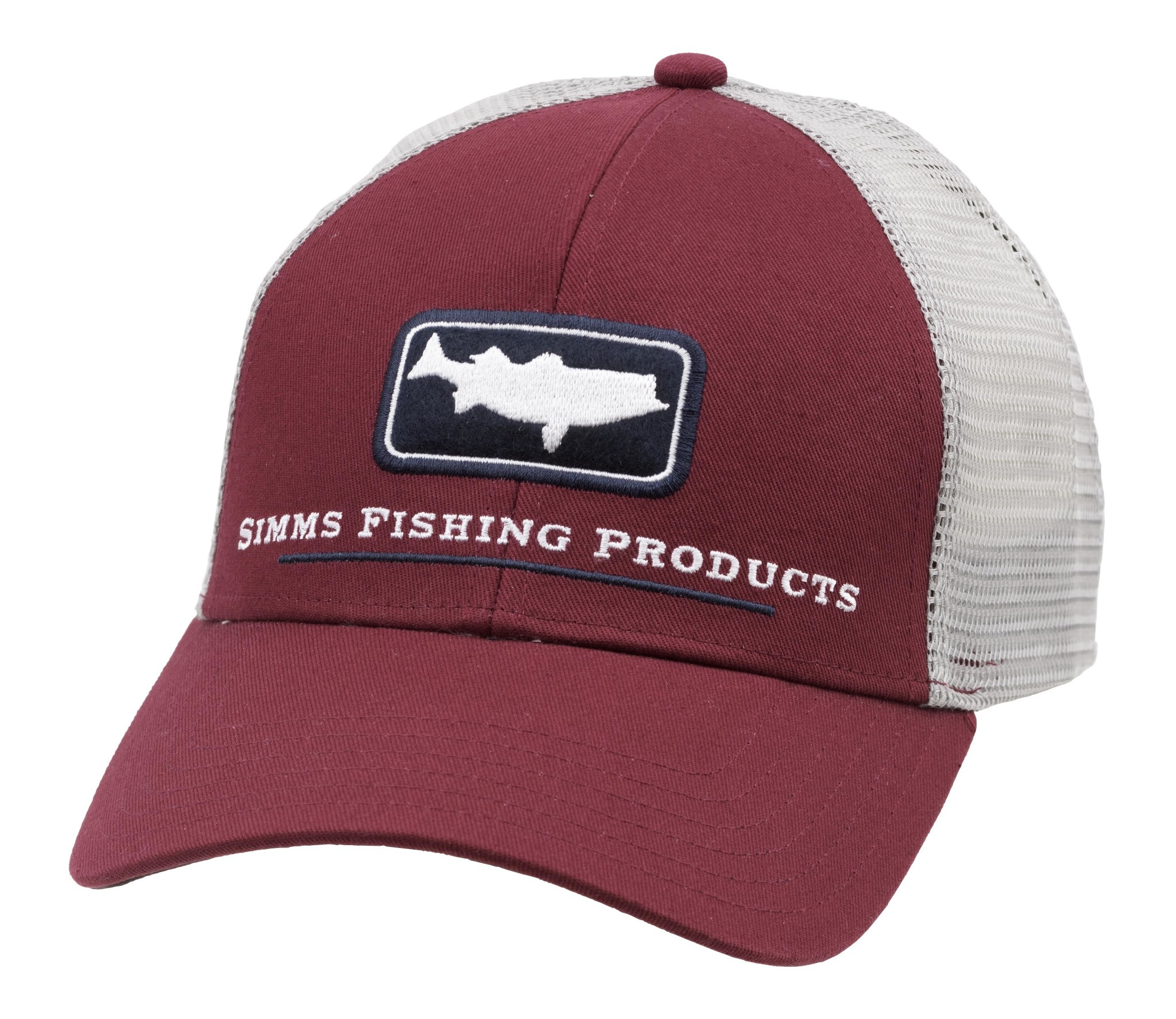 Simms Simms Striper Icon Trucker Rusty Red