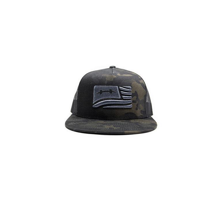 Hatch Hatch Camo Flag Hat