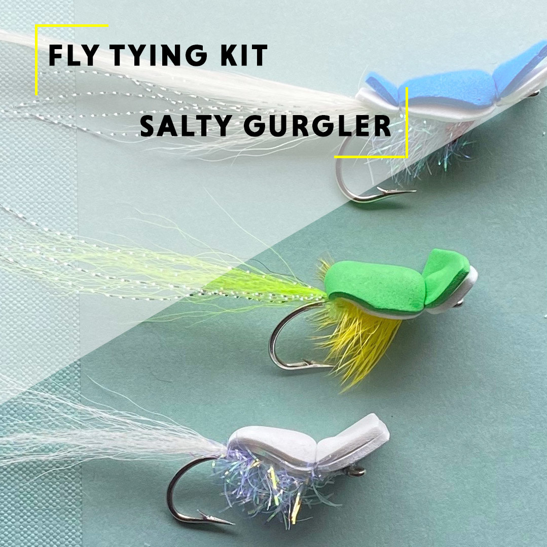 Urban Angler Fly Tying Kit - Salty Gurgler