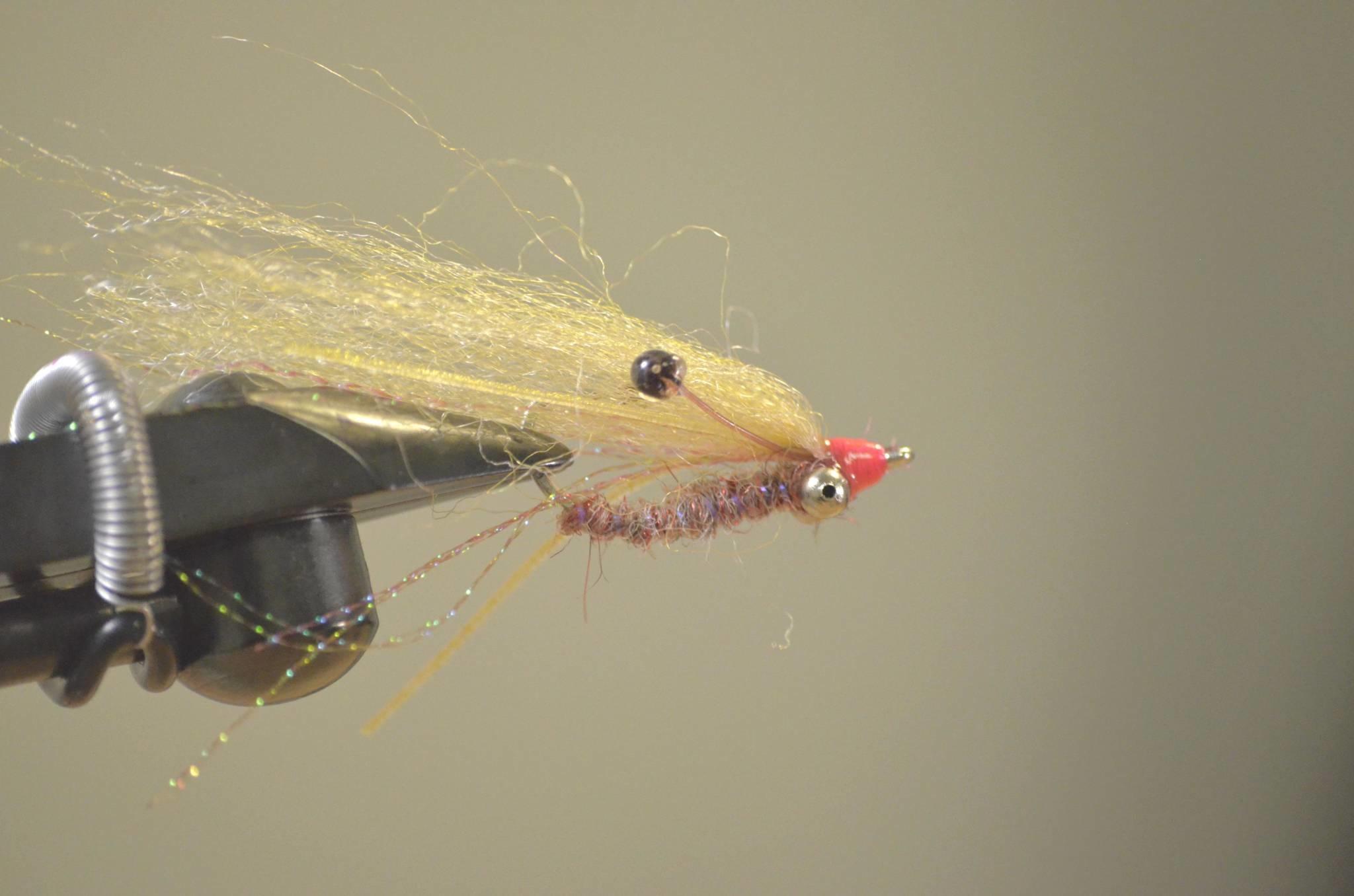 Urban Angler Fly Tying Kit - EP Red Sparkle Ghost Shrimp