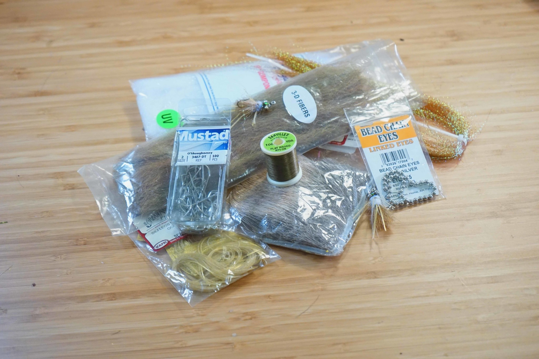Urban Angler Fly Tying Kit - EP Bonefish Bitters