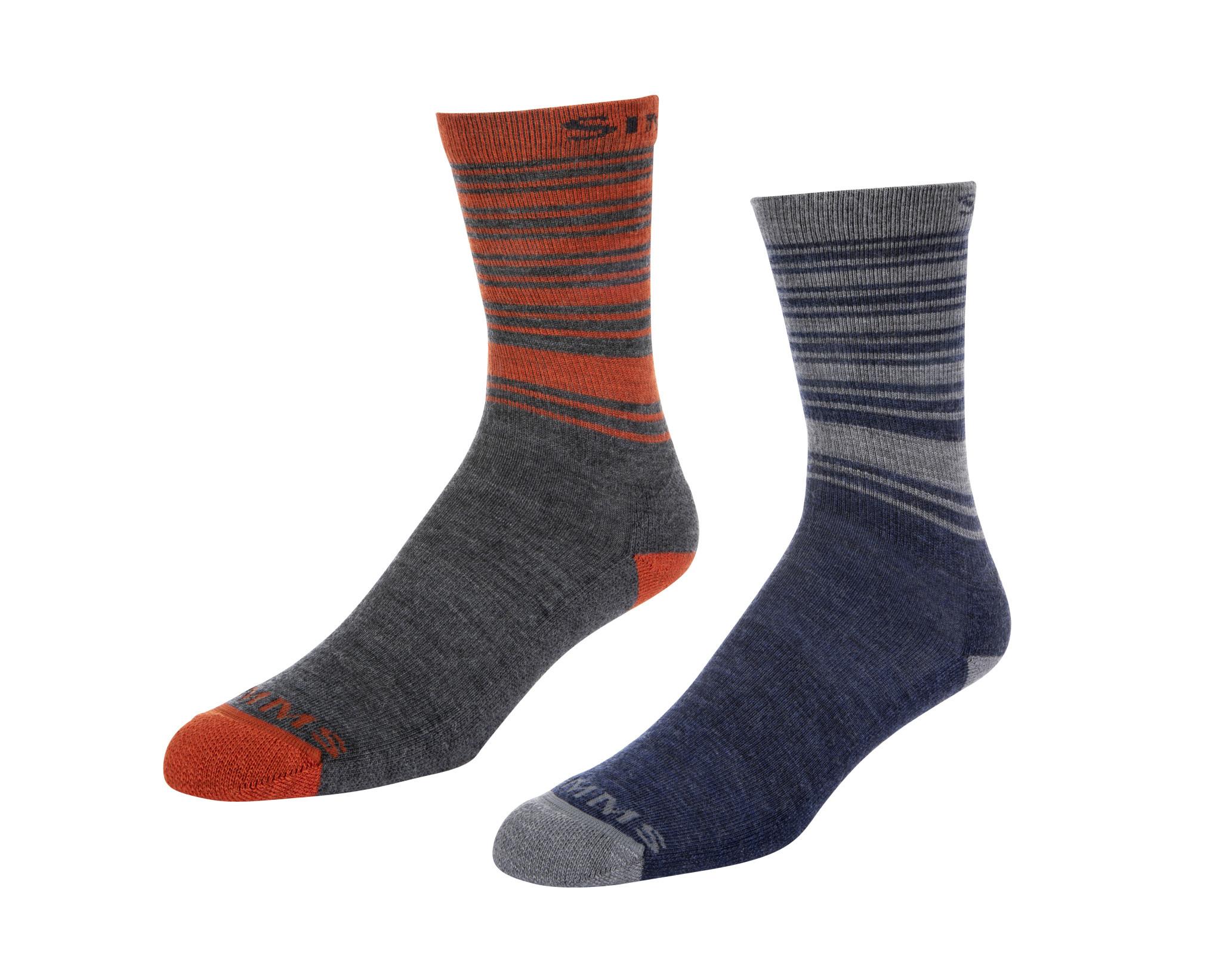 Simms Simms Merino Lightweight Hiker Sock 2-Pack